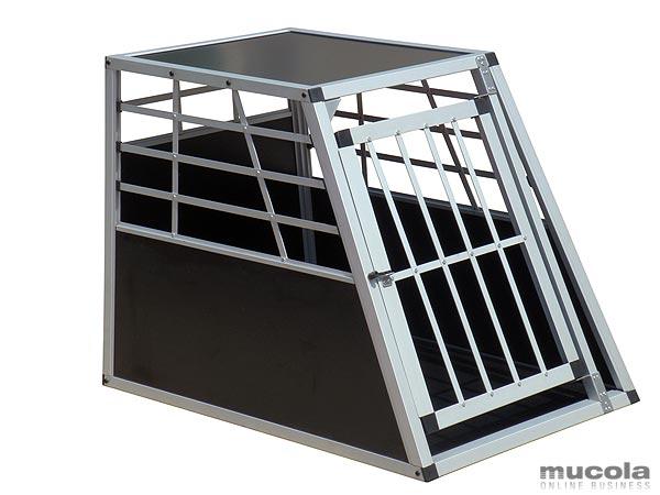 massive alu hunde transportbox gitterbox hundebox. Black Bedroom Furniture Sets. Home Design Ideas