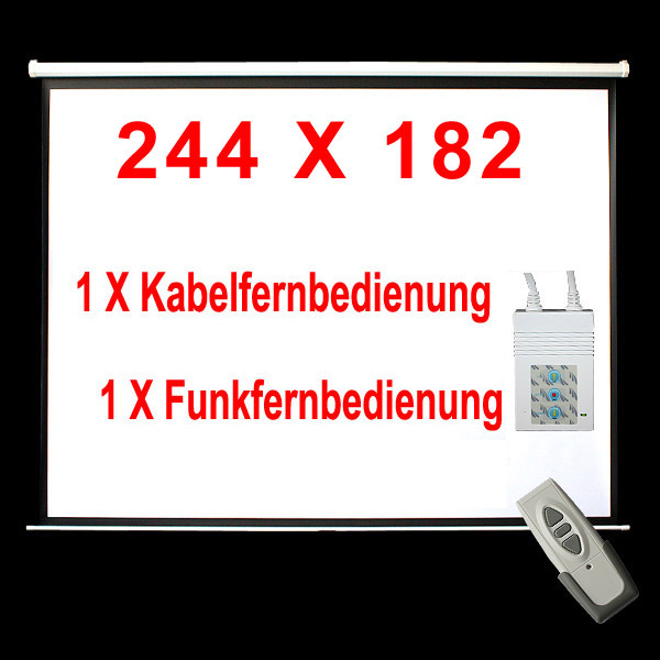 MOTOR-LEINWAND-INKL-FFB-BEAMER-HEIMKINO-BEAMERLEINWAND-244X182CM-16-9-4-3-WOW