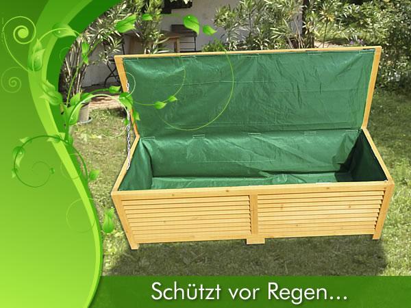 holz auflagenbox kissenbox gartenbox gartentruhe box auflagen truhe holztruhe ebay. Black Bedroom Furniture Sets. Home Design Ideas