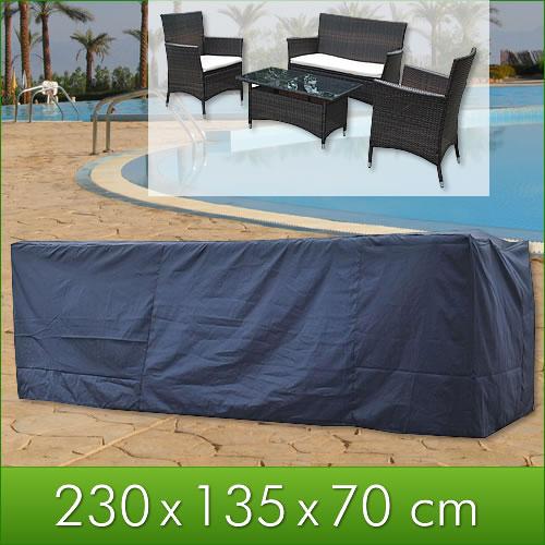 garten gartenm bel gartenbank wetterschutz abdeckhaube abdeckplane schutzh lle ebay. Black Bedroom Furniture Sets. Home Design Ideas