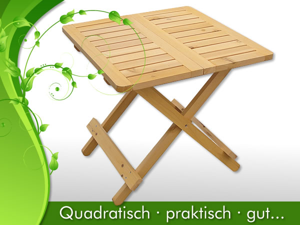 beistelltisch klapptisch balkontisch balkon m bel gartenm bel tisch massiv holz ebay. Black Bedroom Furniture Sets. Home Design Ideas