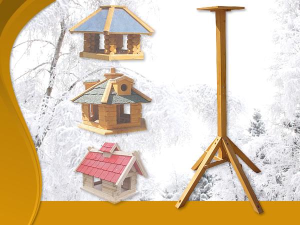 vogelhausst nder st nder vogelhaus futterhaus vogelh uschen holz futtersilo ebay. Black Bedroom Furniture Sets. Home Design Ideas