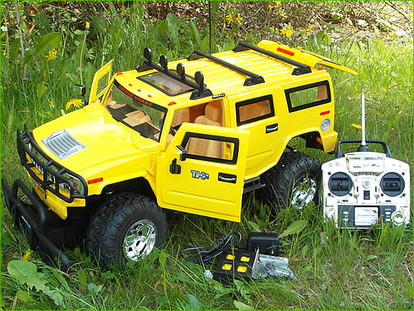 RC-Monstertruck-Gelaendewagen-Car-Auto-Wagen-Hummer-BIGFOOT-Akku-RTF-Elektro