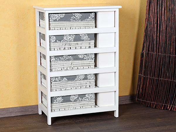 landhaus kommode schrank sideboard badschrank regal wei k rben k chenschrank ebay. Black Bedroom Furniture Sets. Home Design Ideas