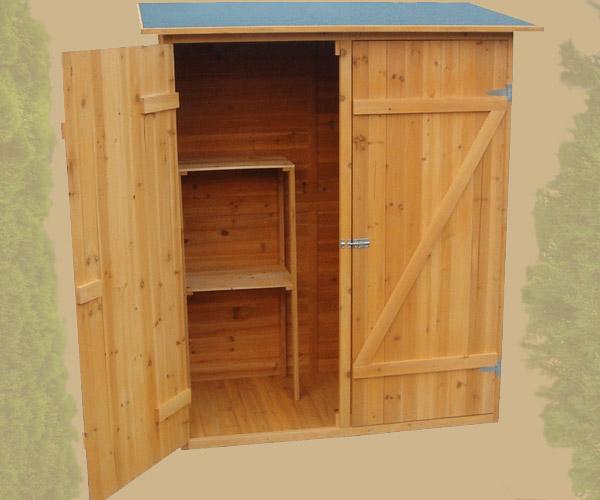 Armadio in legno da esterno 162 x 140 x 75 cm resistente accessori giardino ebay - Armadio porta attrezzi da giardino ...