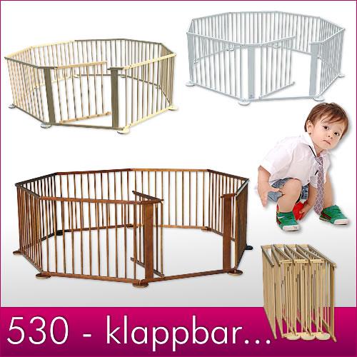 7-2-m-klappbar-Holz-Laufgitter-Laufstall-Wandhalterung-Fuesse-Babylaufgitter