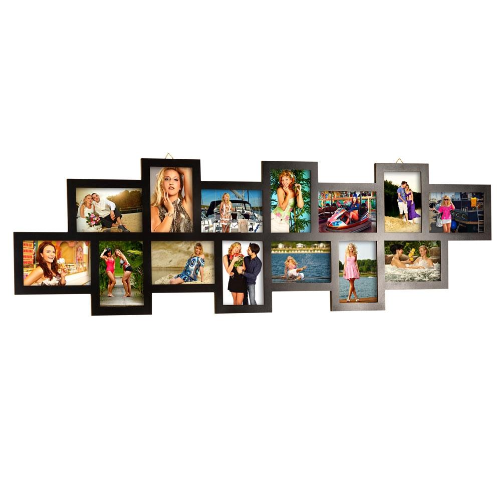 bilderrahmen fotogalerie 28 14 12 fotos aus holz wei. Black Bedroom Furniture Sets. Home Design Ideas