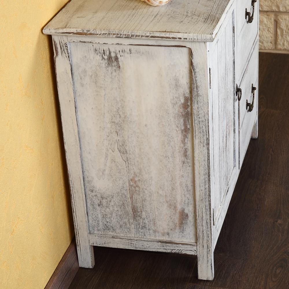 shabby kommode schrank regal sideboard k chenschrank holz. Black Bedroom Furniture Sets. Home Design Ideas