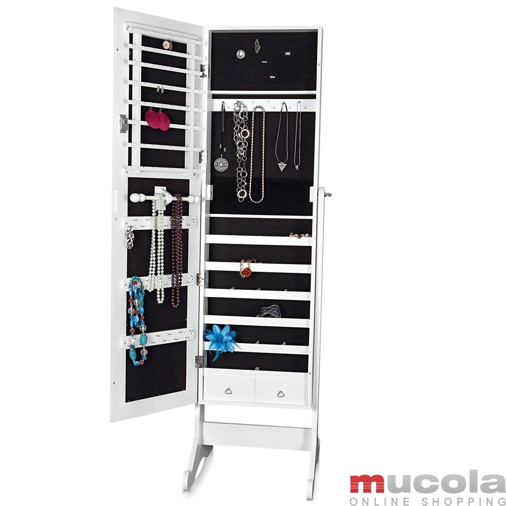 schmuckschrank standspiegel spiegel schrank. Black Bedroom Furniture Sets. Home Design Ideas