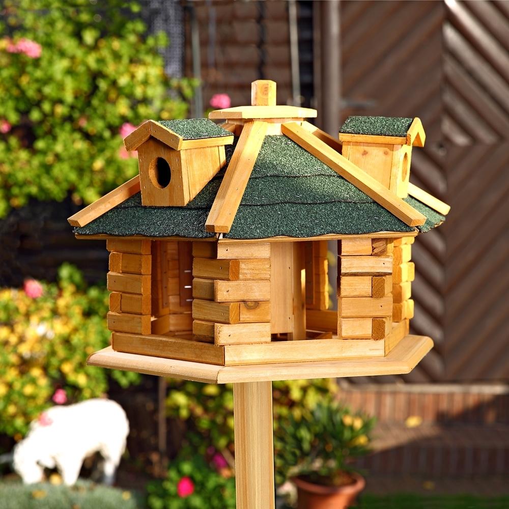 Vogelhaus vogelfutterhaus vogelh user vogelh uschen vogel for Cabane pour oiseaux a fabriquer