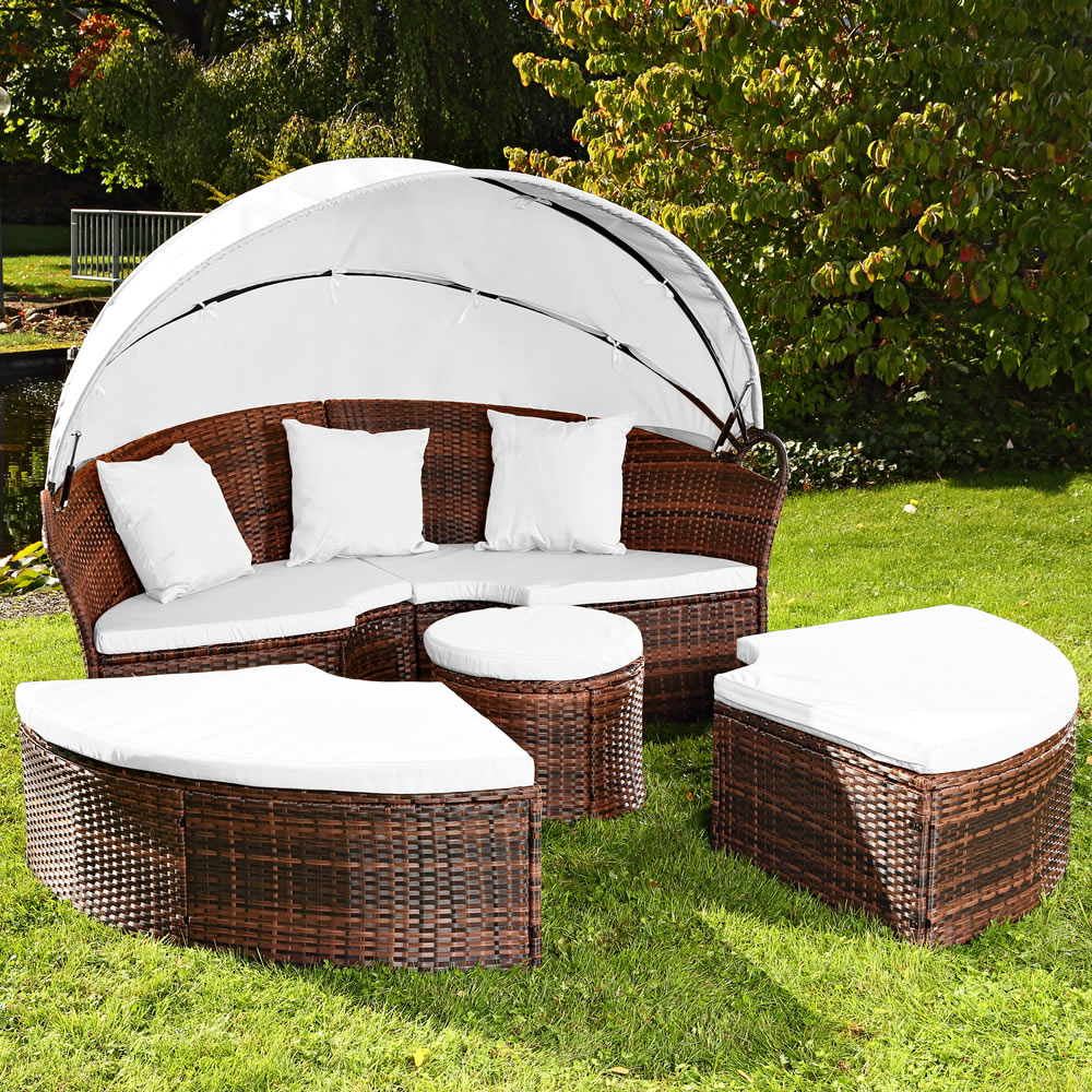 sonneninsel tisch rattan sonneninsel polyrattan. Black Bedroom Furniture Sets. Home Design Ideas