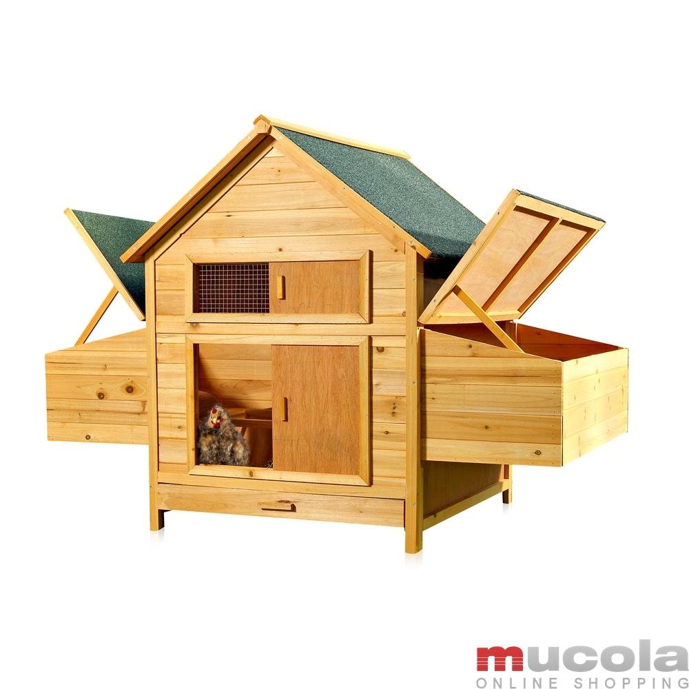 mucola h hnerhaus h hnerstall freilaufgehege gefl gelstall h hnervoliere ebay. Black Bedroom Furniture Sets. Home Design Ideas