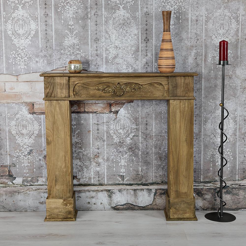deko kamin attrappe kaminkonsole kaminumbau kaminsims kaminumrandung kamin m01 ebay. Black Bedroom Furniture Sets. Home Design Ideas