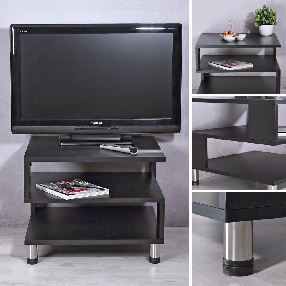 Moderner Fernsehschrank aus Holz mit Regalfächer TV Rack ...