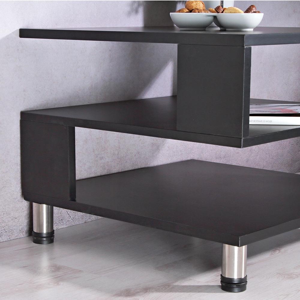 moderner fernsehschrank aus holz mit regalf cher tv rack standregal anrichte neu. Black Bedroom Furniture Sets. Home Design Ideas