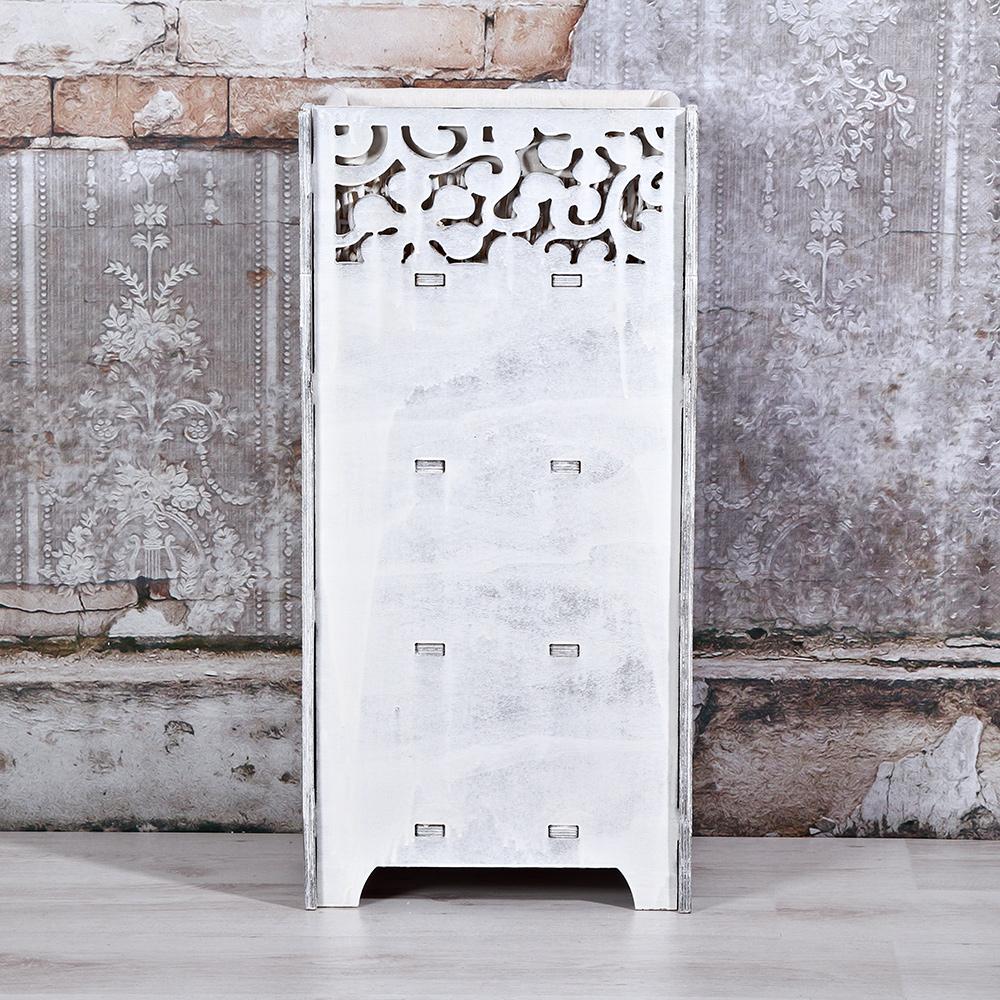 kommodenschrank inkl 3 k rbe anrichte highboard regal bad. Black Bedroom Furniture Sets. Home Design Ideas