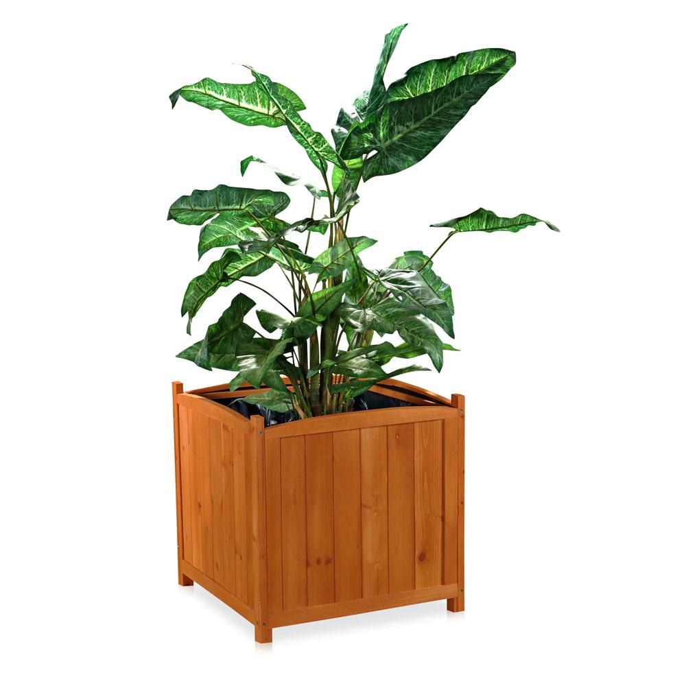 blumenkasten holz pflanzkasten gartenbank 2 in 1 blumenk bel rankgitter bank f ebay. Black Bedroom Furniture Sets. Home Design Ideas