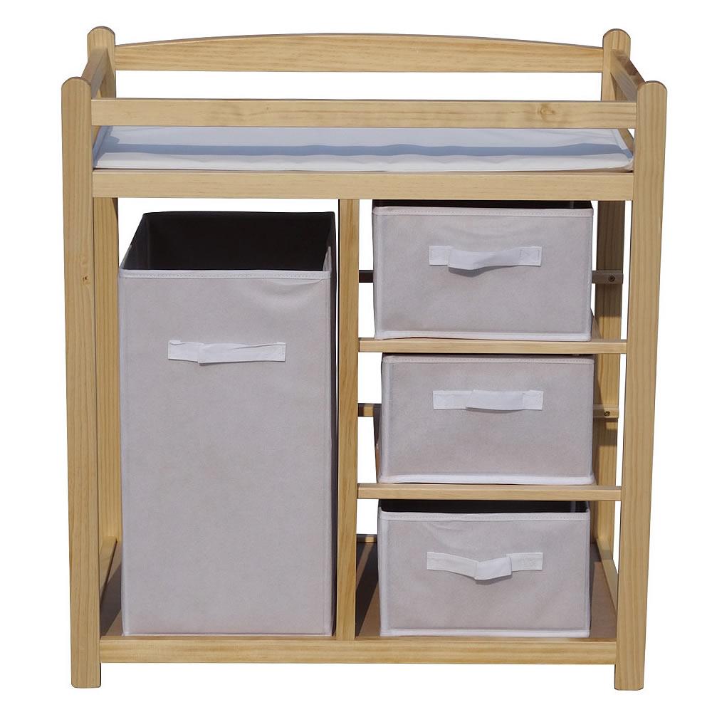wickelregal aus holz wickelaufsatz baby wickelkommode wickeltisch wickelschrank ebay. Black Bedroom Furniture Sets. Home Design Ideas
