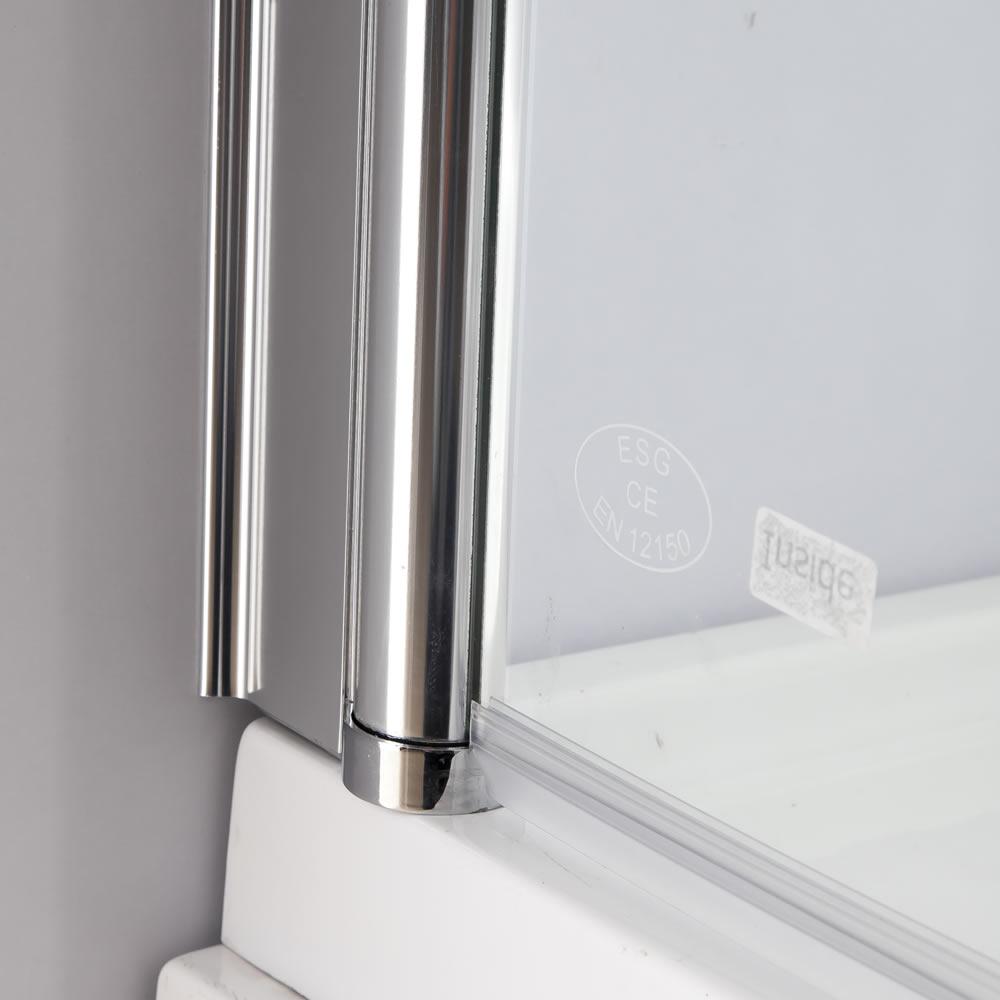 139x119cm badewannen duschabtrennung aus glas. Black Bedroom Furniture Sets. Home Design Ideas