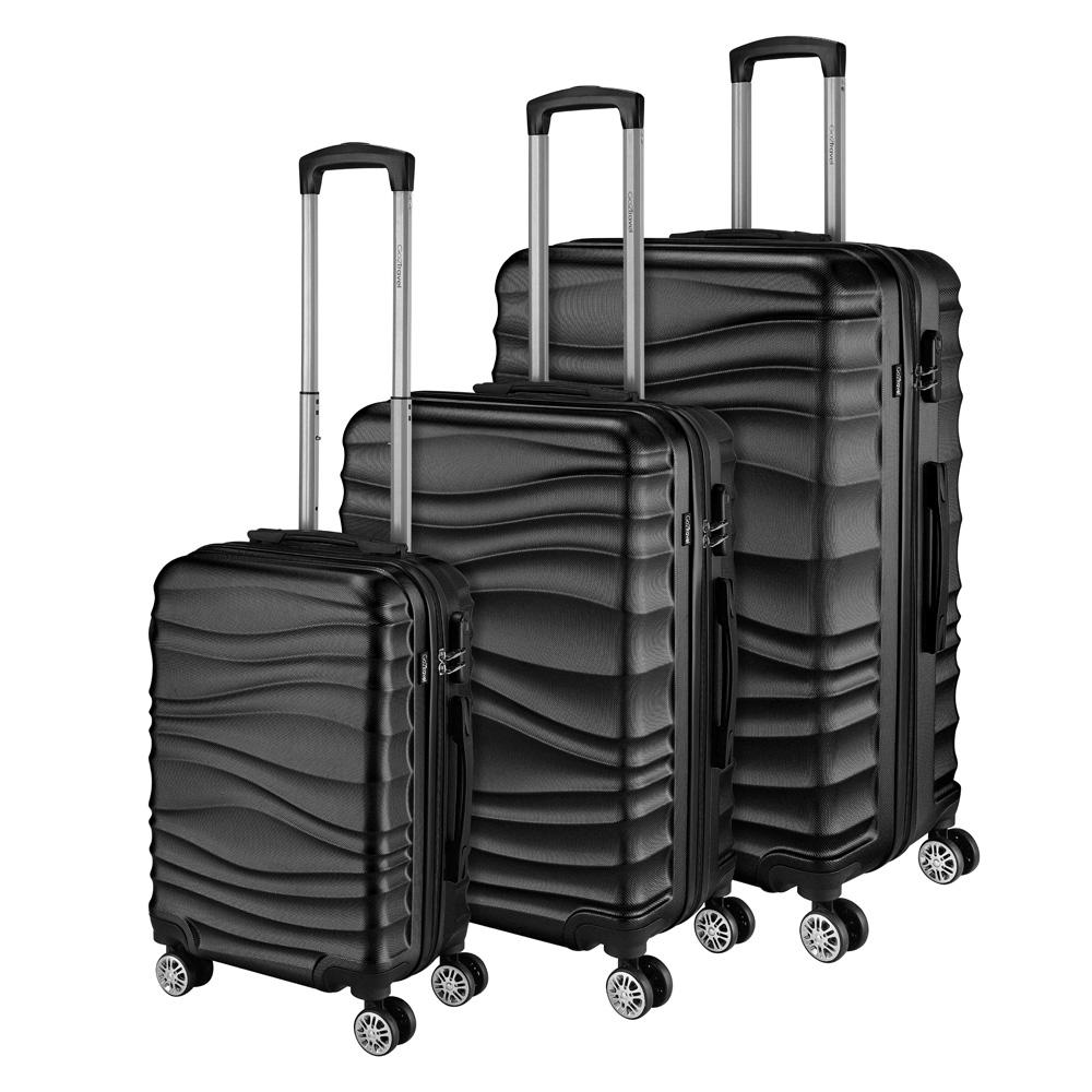 Go2Travel Reisekoffer Hartschalenkoffer Reisetasche Trolley Bordgepäck 😎 2