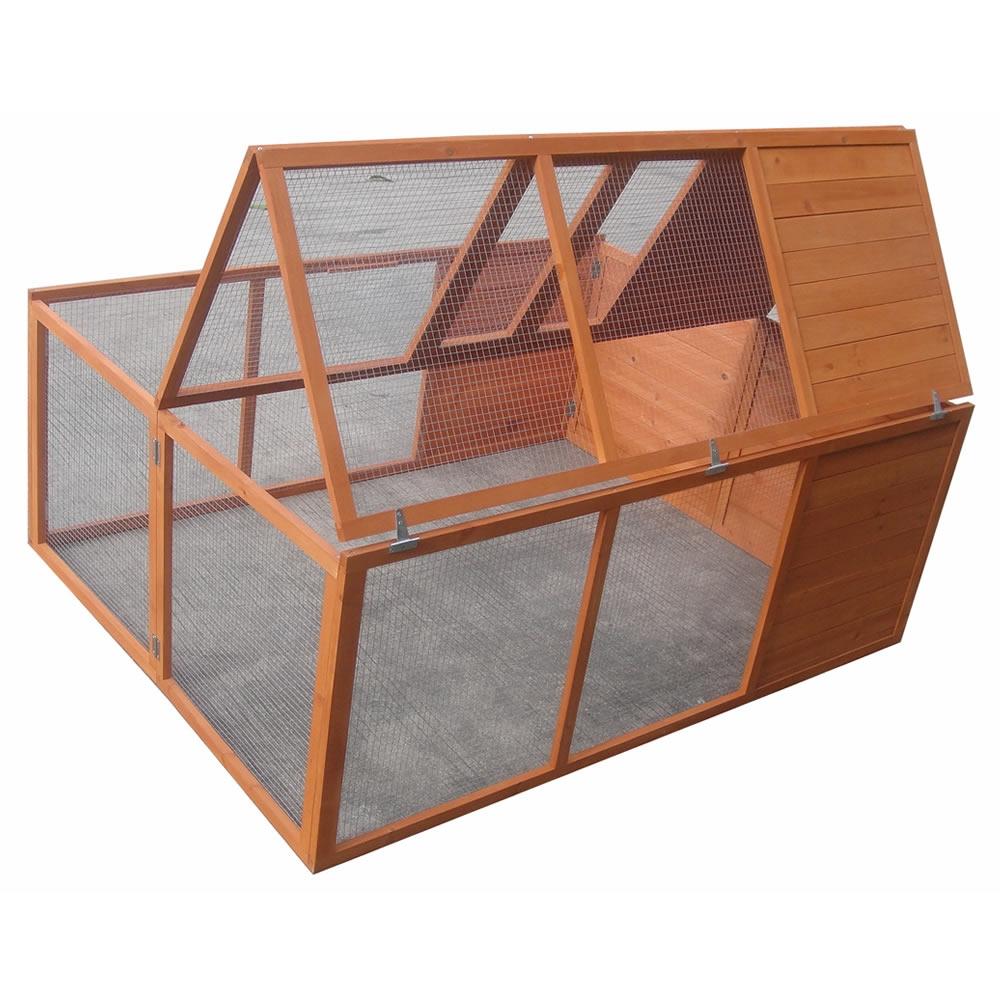 freigehege faltbar f r kaninchen meerschweinchen freilauf gehege kleintierstall ebay. Black Bedroom Furniture Sets. Home Design Ideas