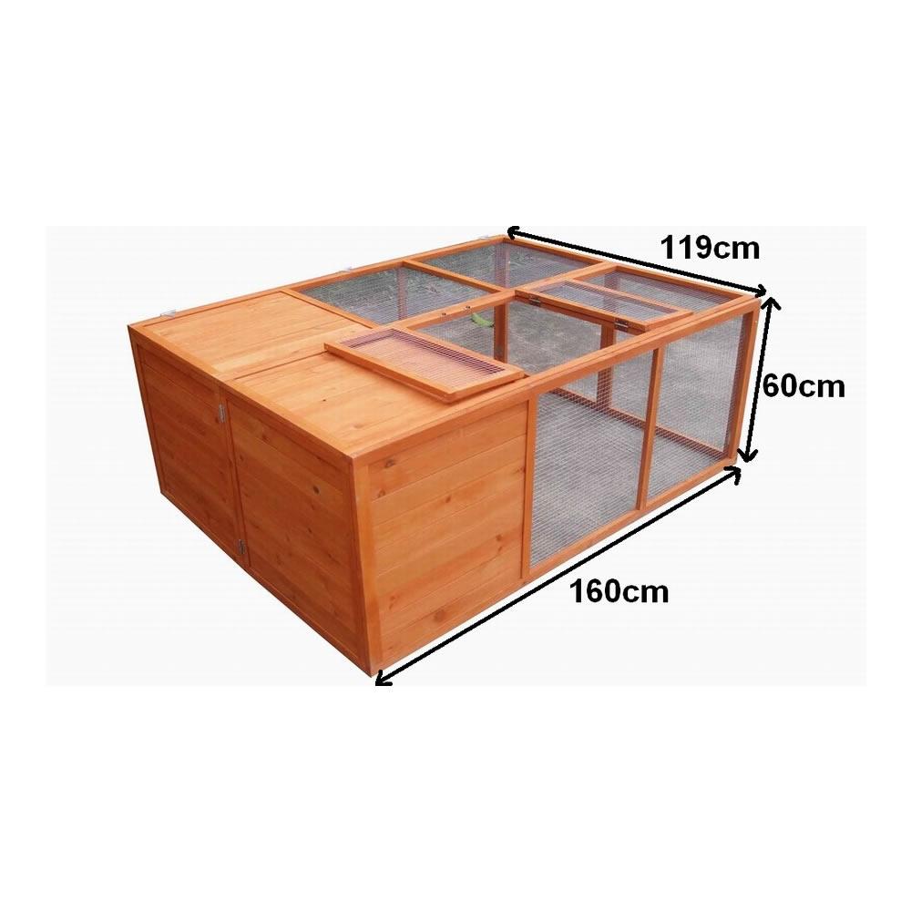 freigehege faltbar f r kaninchen meerschweinchen freilauf. Black Bedroom Furniture Sets. Home Design Ideas