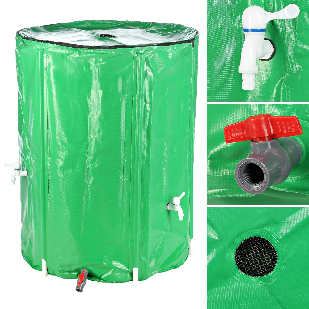klappbar regenfass regenwassertank zisterne tonne fass. Black Bedroom Furniture Sets. Home Design Ideas