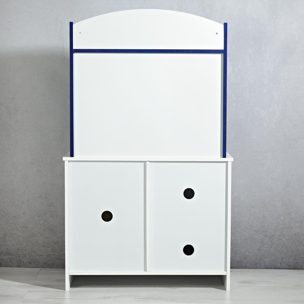 kinderk che holz blau spielk che kinder spielzeug zubeh r m dchen k che ebay. Black Bedroom Furniture Sets. Home Design Ideas