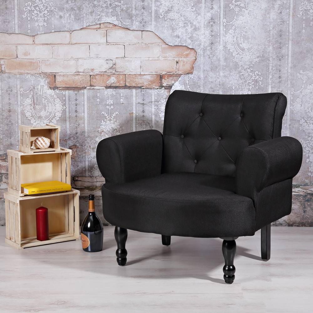 sessel esszimmer design relax barock stil textilsessel polster lounge softsessel ebay. Black Bedroom Furniture Sets. Home Design Ideas