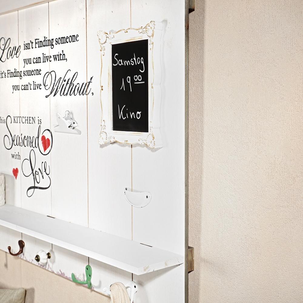 89cm holzbild ablage garderobenhaken tafel im fotohalter holz shabby schrift ebay. Black Bedroom Furniture Sets. Home Design Ideas