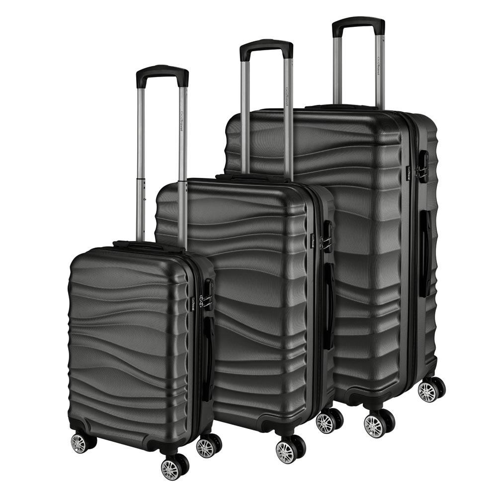 Go2Travel Reisekoffer Hartschalenkoffer Reisetasche Trolley Bordgepäck 😎 4