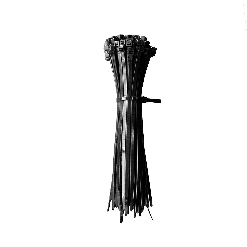 Kabelbinder Schwarz UV-beständig Kabelstrapse Kabelband Strapse ...