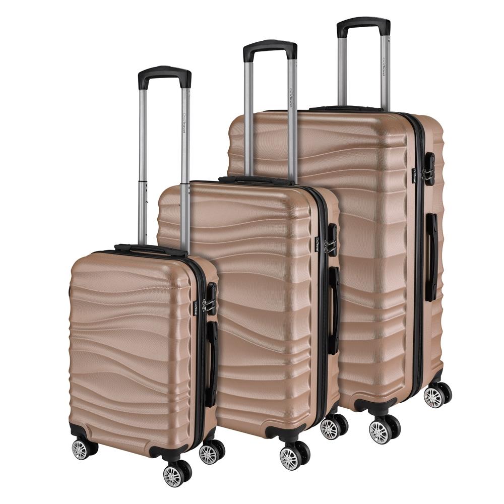 Go2Travel Reisekoffer Hartschalenkoffer Reisetasche Trolley Bordgepäck 😎 3