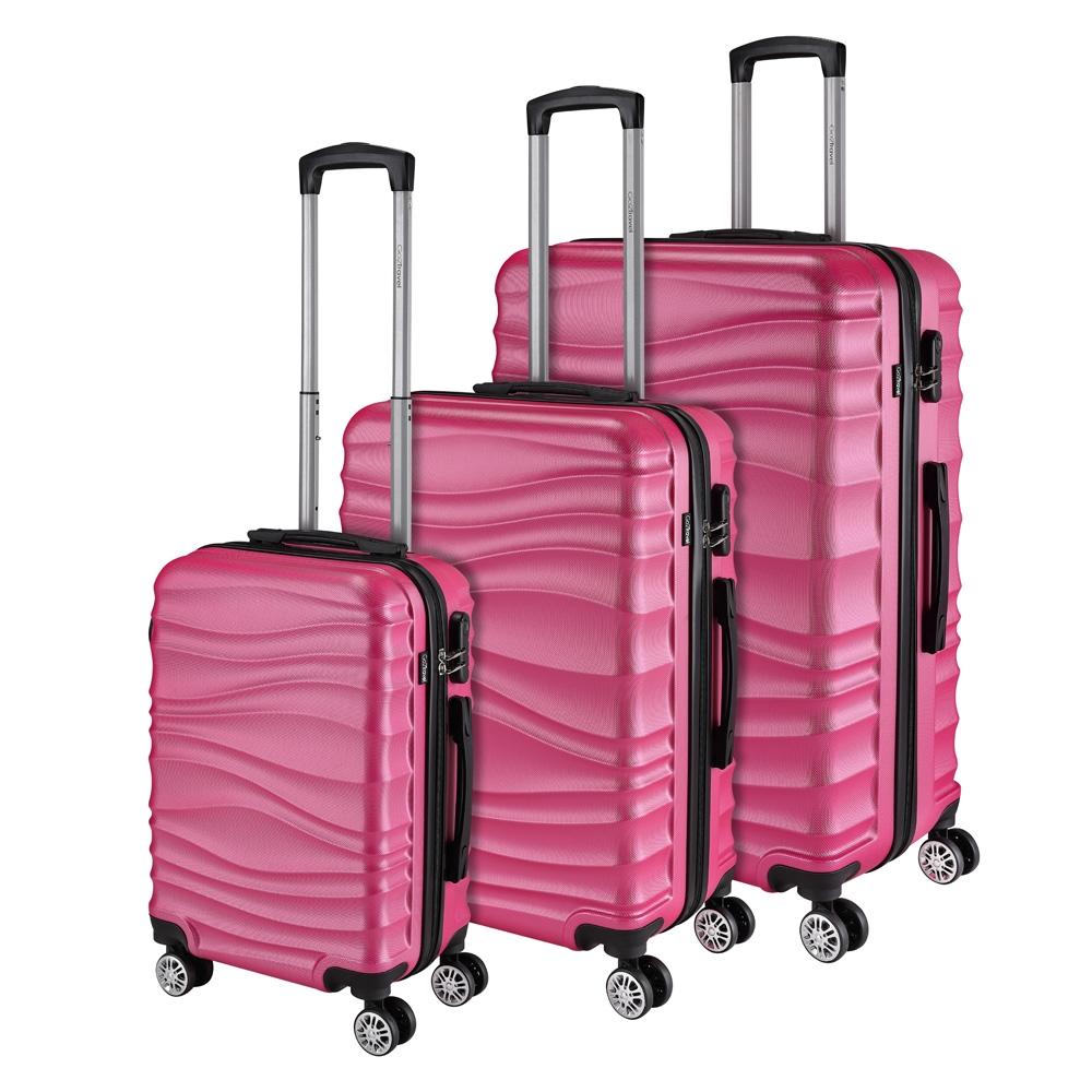 Go2Travel Reisekoffer Hartschalenkoffer Reisetasche Trolley Bordgepäck 😎 7