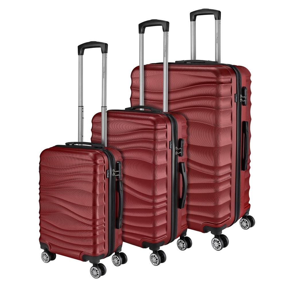 Go2Travel Reisekoffer Hartschalenkoffer Reisetasche Trolley Bordgepäck 😎 5