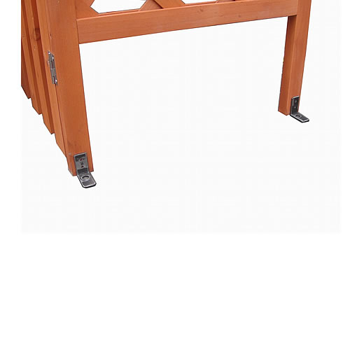 Rosenbogen Holz Durchgangsbreite 160 ~ Rosenbogen Holz Pergola Torbogen Rankhilfe Spalier Blumenkübel