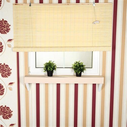 80x160 bambus raffrollo bambusrollo jalousie faltrollo holzrollo natur fenster ebay. Black Bedroom Furniture Sets. Home Design Ideas