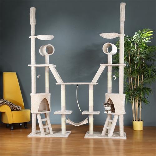 kratzbaum katzenbaum kletterbaum banana leaf sisals ulen stoff spielbaum katzen ebay. Black Bedroom Furniture Sets. Home Design Ideas