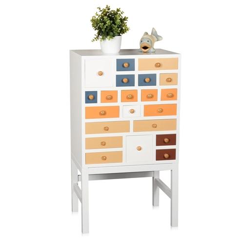 schrank kommode konsole nachtschrank zeitungsst nder bunt highboard anrichte ebay. Black Bedroom Furniture Sets. Home Design Ideas