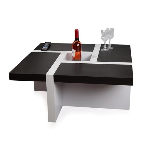 couchtisch beistelltisch wohnzimmertisch tisch wei schwarz braun design. Black Bedroom Furniture Sets. Home Design Ideas