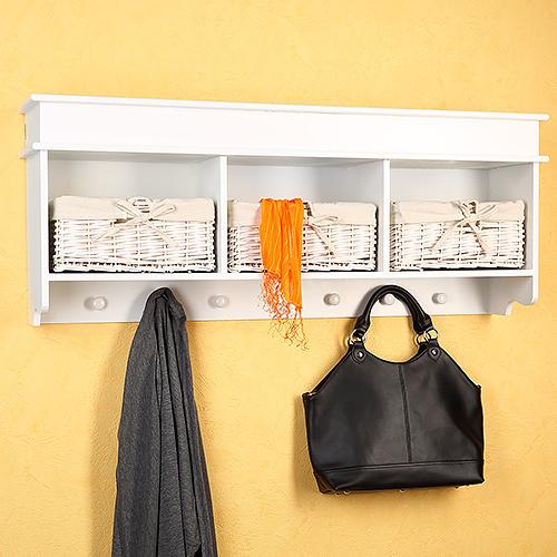 wandschrank k chenschrank wandregal regal schrank holz landhaus wei vitrine ebay. Black Bedroom Furniture Sets. Home Design Ideas