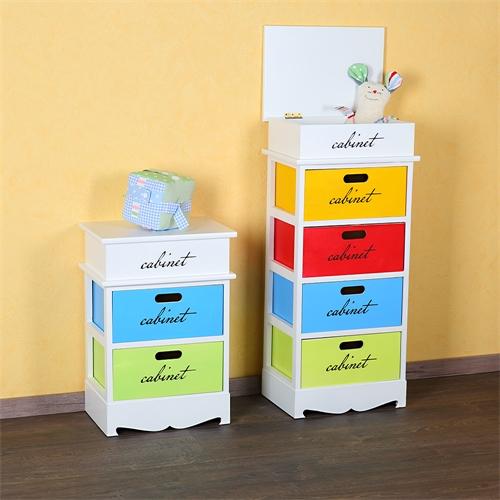 patchwork kommode mit 2 schublade regal kinderzimmer baby. Black Bedroom Furniture Sets. Home Design Ideas