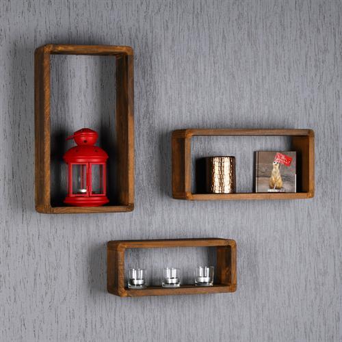 wandregal w rfel holz. Black Bedroom Furniture Sets. Home Design Ideas