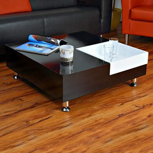 Couchtisch beistelltisch wohnzimmertisch tisch glastisch for Couchtisch schwarz