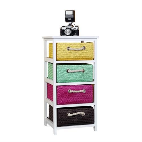 bunte kinder kommode sideboard schrank regal badschrank tisch schubladenschrank ebay. Black Bedroom Furniture Sets. Home Design Ideas