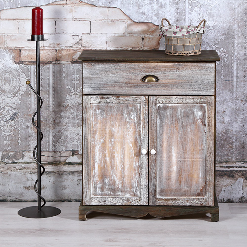 sideboard dunkel wie antik aus holz kommode wandschrank highboard anrichte neu ebay. Black Bedroom Furniture Sets. Home Design Ideas