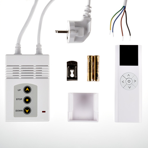 fernbedienungen motorleinwand beamer leinwand funk kabel markisen rollladen set ebay. Black Bedroom Furniture Sets. Home Design Ideas