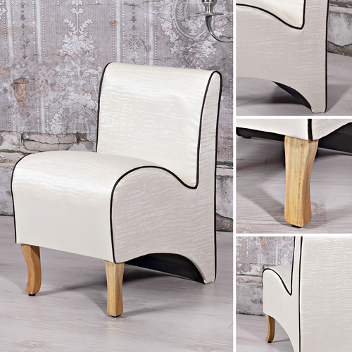 mini polster sessel esszimmer stuhl sitzm bel softsessel relaxsessel beige creme ebay. Black Bedroom Furniture Sets. Home Design Ideas