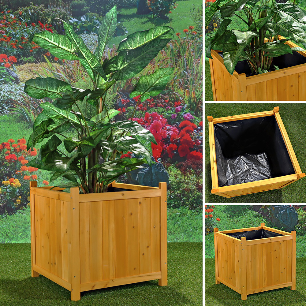 blumenkasten aus holz pflanzkasten gartenbank 2 in 1 blumenk bel rankgitter bank ebay. Black Bedroom Furniture Sets. Home Design Ideas