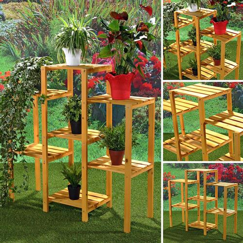 Blumenkasten aus Holz Pflanzkasten Gartenbank 2 in 1 Blumenkübel ...